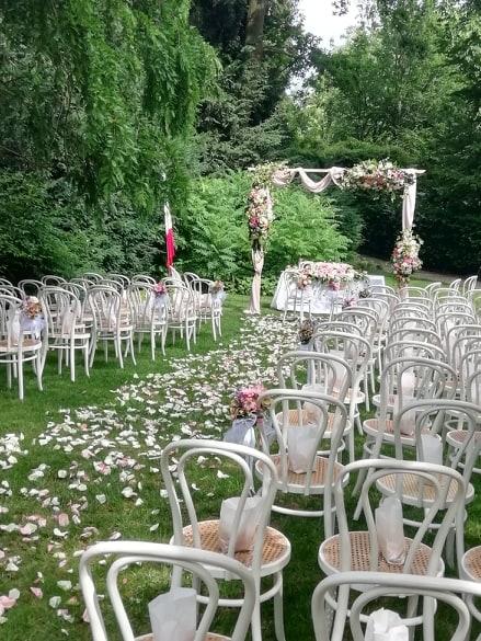 cerimonia rito civile giardino lombardia